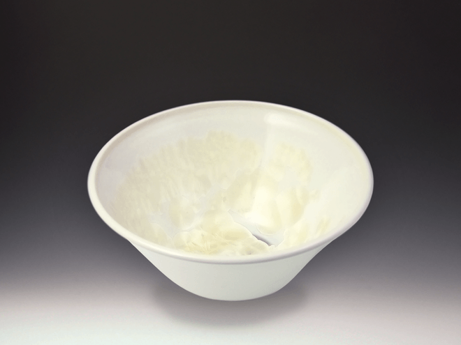 Small Ivory White Bowl