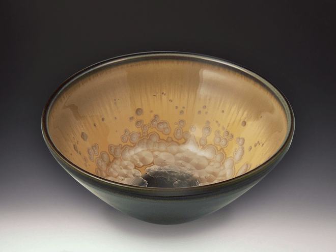 Medium Mocha Crystal Bowl
