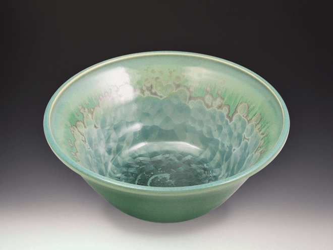 Medium Patina Crystal Bowl