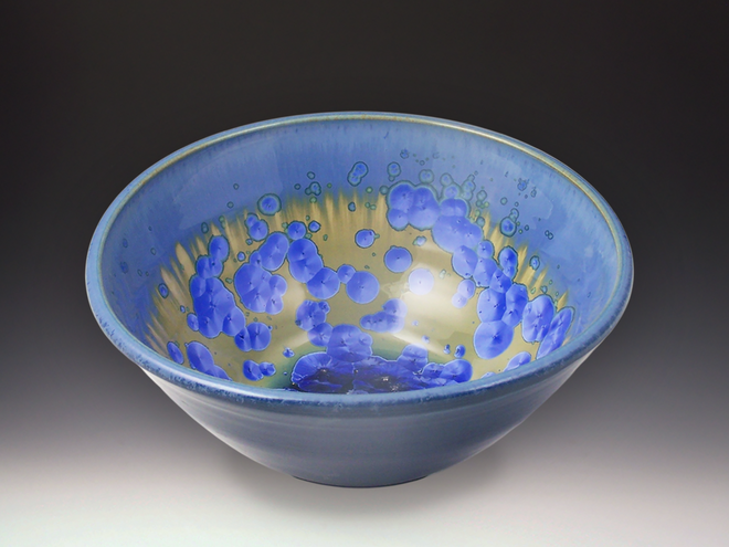 Medium Sky Crystal Bowl