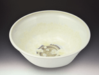Medium Ivory Crystal White Bowl
