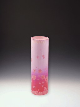 310 Vase Rose Crystal